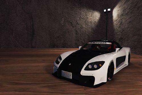 Mazda RX7 Veilside StreetEdit [Add-On | Replace]
