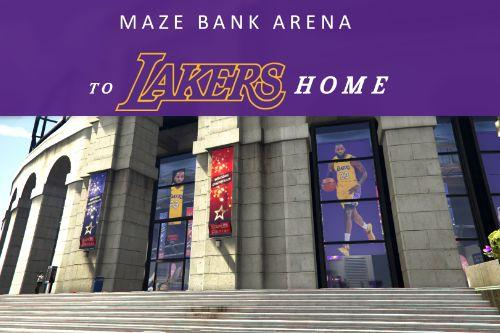 MAZE BANK ARENA TO LAKERS HOME