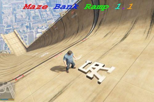 Maze Bank Ramp