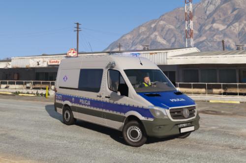 Mercedes-Benz Sprinter Polish Police