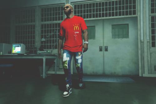 McDonald's x Travis Scott Staff Tee