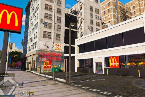 McDonalds Building with interior and drive through V 0.01