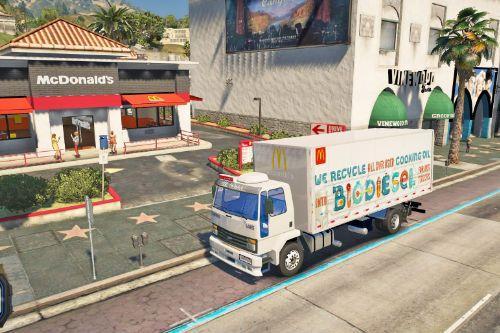 McDonalds Truck [Paint Job]