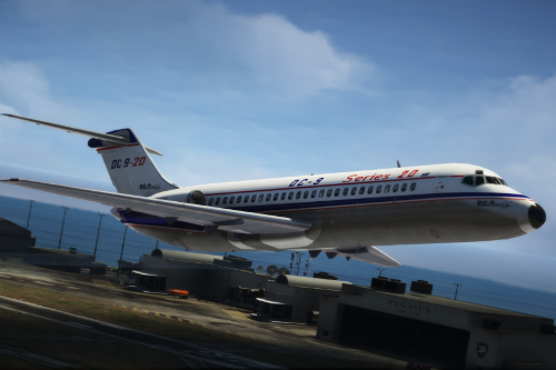McDonnell Douglas DC-9 Package [Add-on I Package I Liveries]