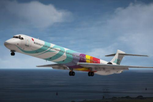 McDonnell-Douglas MD-90-30 Japan Air System & Japan Airlines Pack