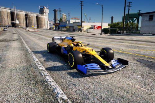 MCL35 Mclaren Formula One F1 [Add-On | Template]
