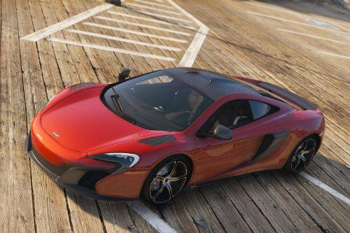 McLaren 650S Coupe [Add-Ons | Tuning | Automatic Spoiler]