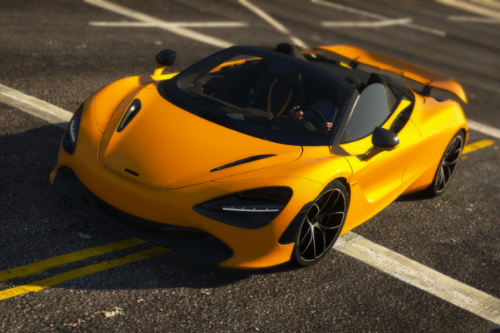 Mclaren 720S Spider [Add-On / Replace]