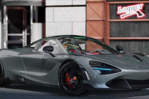 McLaren 720S Vorsteiner 2018 [Add-On | Template]