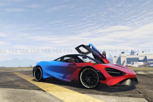 Mclaren 765LT - Color Fade Livery