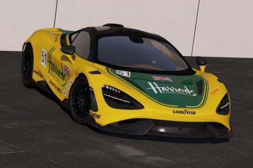 [McLaren 765LT]Harrods livery