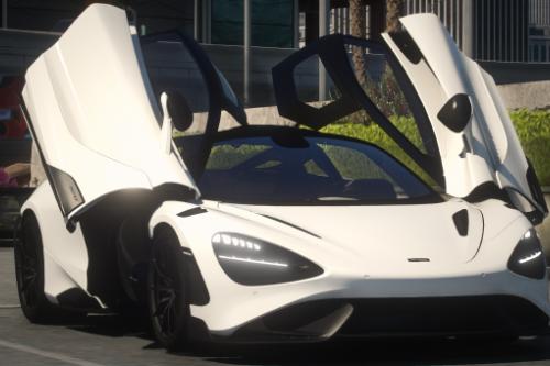 McLaren 765LT [Add-On / OIV / FiveM / Tuning / Template]