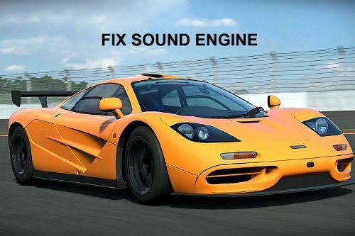 Mclaren F1 (Add-On) Engine Sound Fix