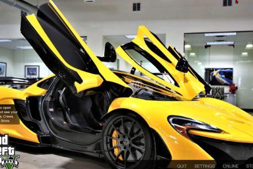 McLaren loading screen