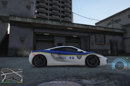 McLaren MP4 Police Car/맥라렌 MP4 경찰차
