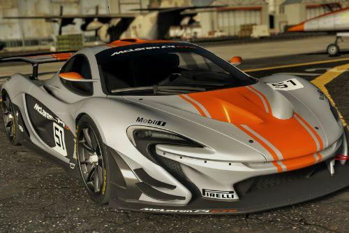 McLaren P1 GTR Road Legal [Addons | Working Spoiler]