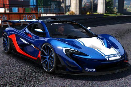 McLaren P1 GTR [Add-On / OIV]