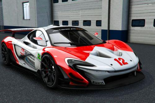 McLaren P1 GTR [Add-On / OIV]