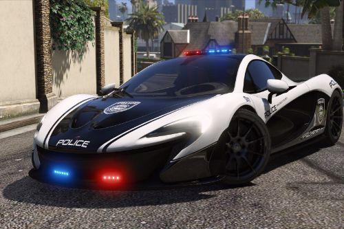 McLaren P1 | Hot Pursuit Police [Add-On / Replace | Template]