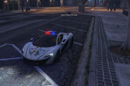 McLaren Politia Romana [ Skin ]