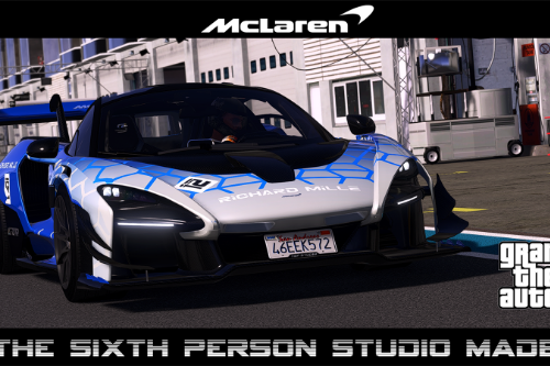 McLaren Senna & GTR [Add-On | Extras | Tuning | Template]