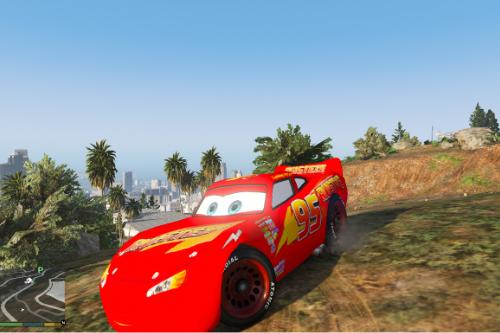 Cars 3 Lightning McQueen Rusteze Paintjob