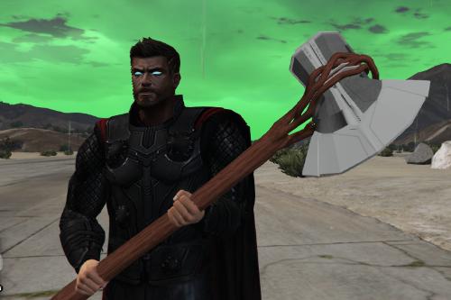 MCU Thor's Weapon StormBreaker (Infinty War, Endgame)