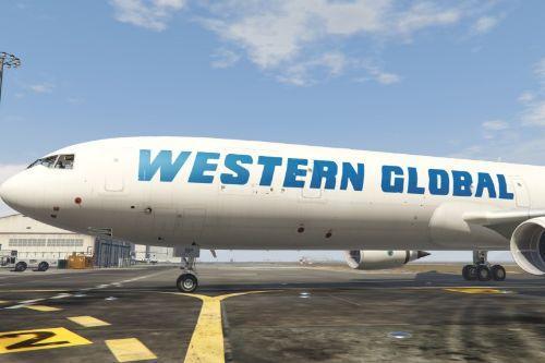 MD-11F Western Global Livery