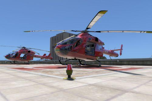 MD 902 Explorer London Air Ambulance Skin Pack