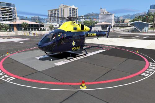 MD 902 Explorer National Police Air Service Skin Pack