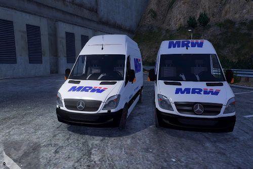 Mecedes Sprinter 311 CDI Cargo Van empresa MRW España