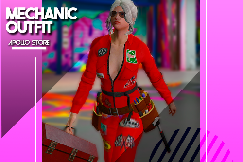 Mechanic Outfit for MP Female