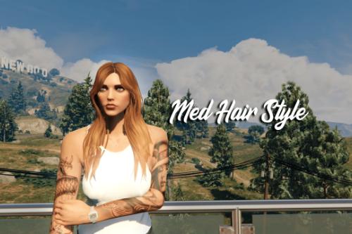 Med Hair Style For MP Female
