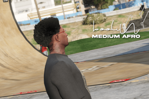 Medium Afro Hair for MP Male