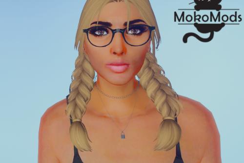 Medium Length Braid Hair for MP Female