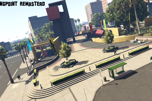 Legion Square Meeting Point Remastered [Add-On / FiveM]
