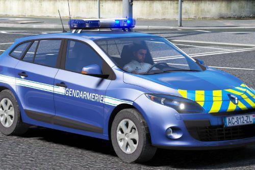 Megane 3 Estate Gendarmerie MLX
