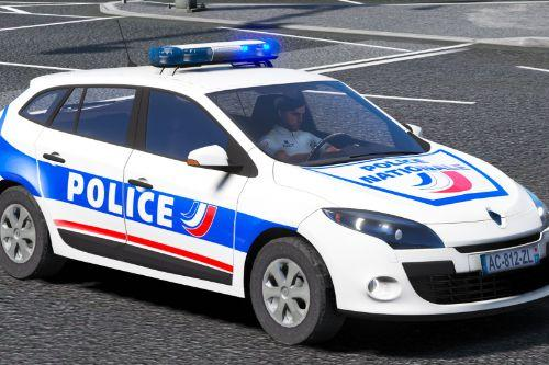 Megane 3 Estate Police Nationale