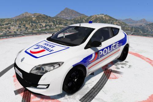 Mégane RS Police Nationale (Fictional / Fictif)