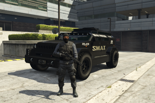 Menacer SWAT LSPD [ADD-ON] POLICIA-POLICE