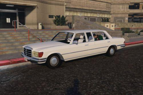 Mercedes 280SE Stretch Limo [Replace]
