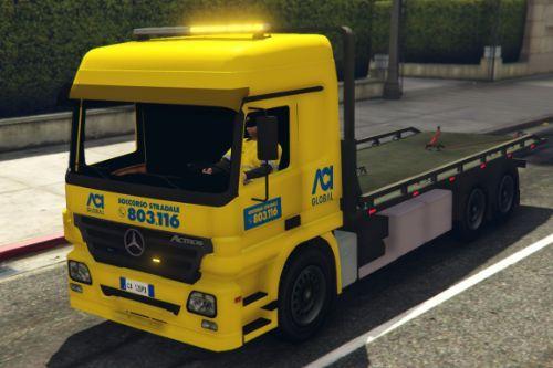 Mercedes Actros | Soccorso Stradale - ACI Global [ELS]