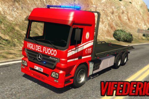 Mercedes Actros | Vigili del fuoco | Pianale - VVF [ELS]