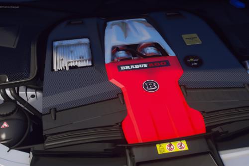 Mercedes-AMG 63 M177 V8 Engine Sound [OIV Add-On / FiveM]