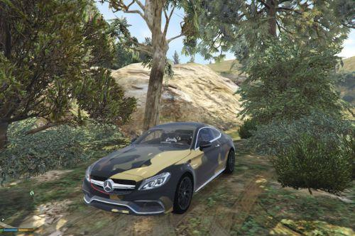 Mercedes-AMG C63s Coupé livery - Camouflage, Sidney Industries Inspired 1.0