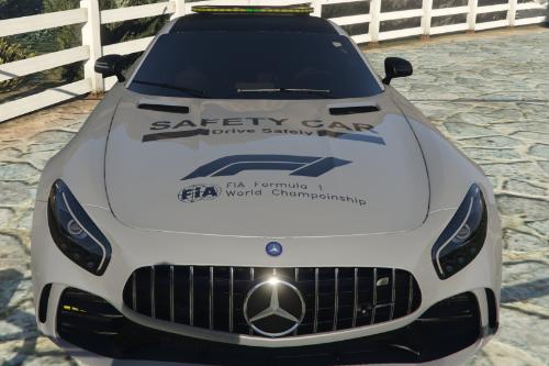 Mercedes AMG GTR 2020 Safety Car Livery [8k]