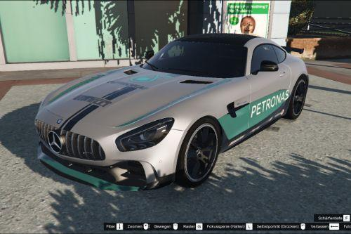 Mercedes-AMG GT R livery - Petronas Edition livery / AMG Petronas F1 Team paintjob