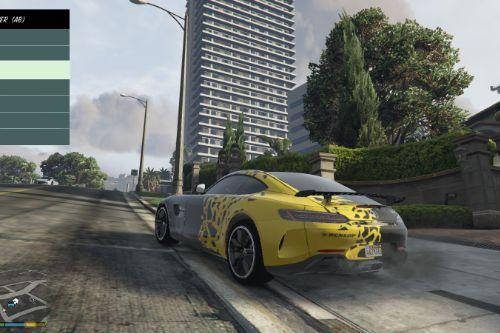 Mercedes-AMG GTR Livery - JP Performance, Dunlop