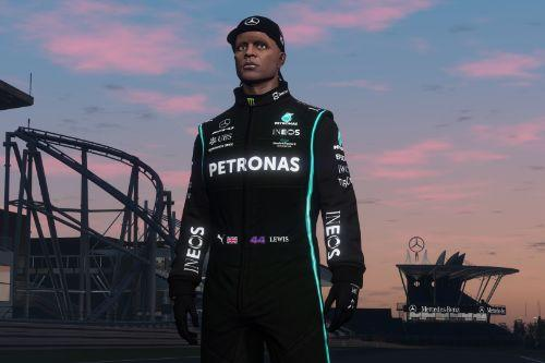 Mercedes-AMG Petronas F1 Team Lewis Hamilton's Suit [HQ]