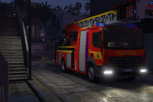 Mercedes Atego Feuerwehr BF Dresden Drehleiter DLK [ELS]  [Paintjob]